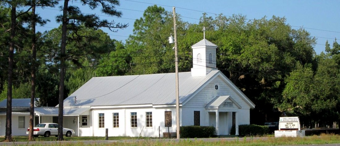 FORT CHRISTMAS BAPTIST CHURCH ♦ 23600 E Colonial Dr. ♦ Christmas, FL 32709 ♦ (407) 568-7727
