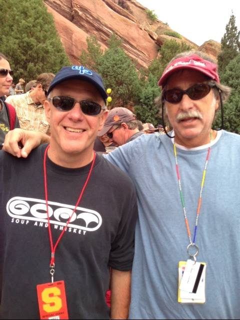 Tom Fricke at Red Rocks