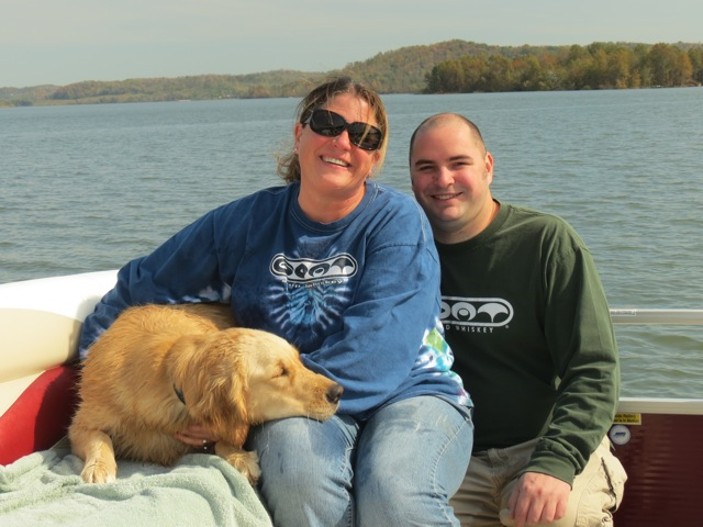 Bradley, Daisy & Stella Blue Johnson at Seneca Lake, OH