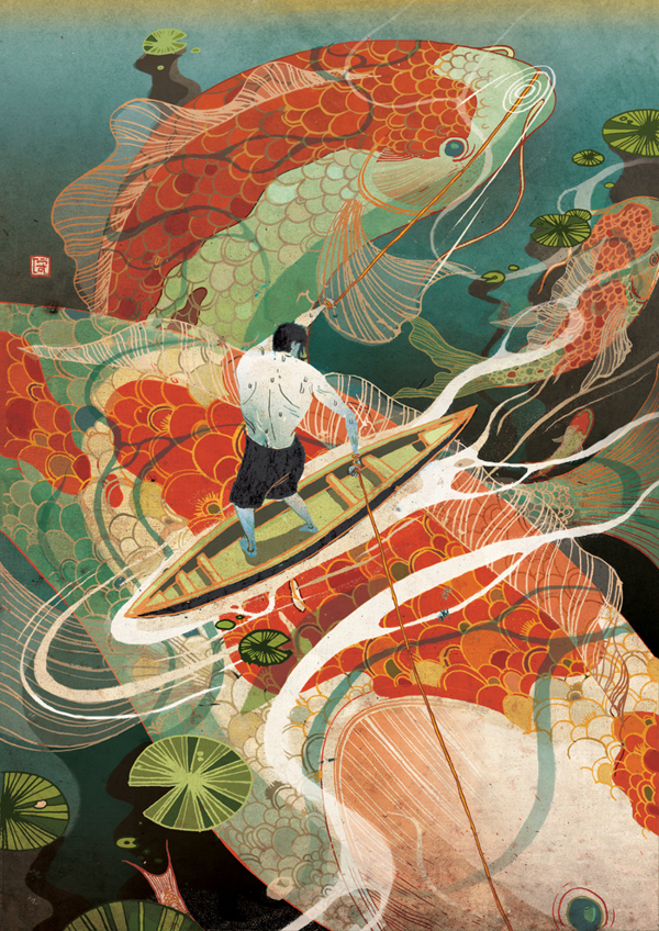 I want a game as beautiful and crazy and imaginative as Victo Ngai's illustrations. Seriously, take my money.