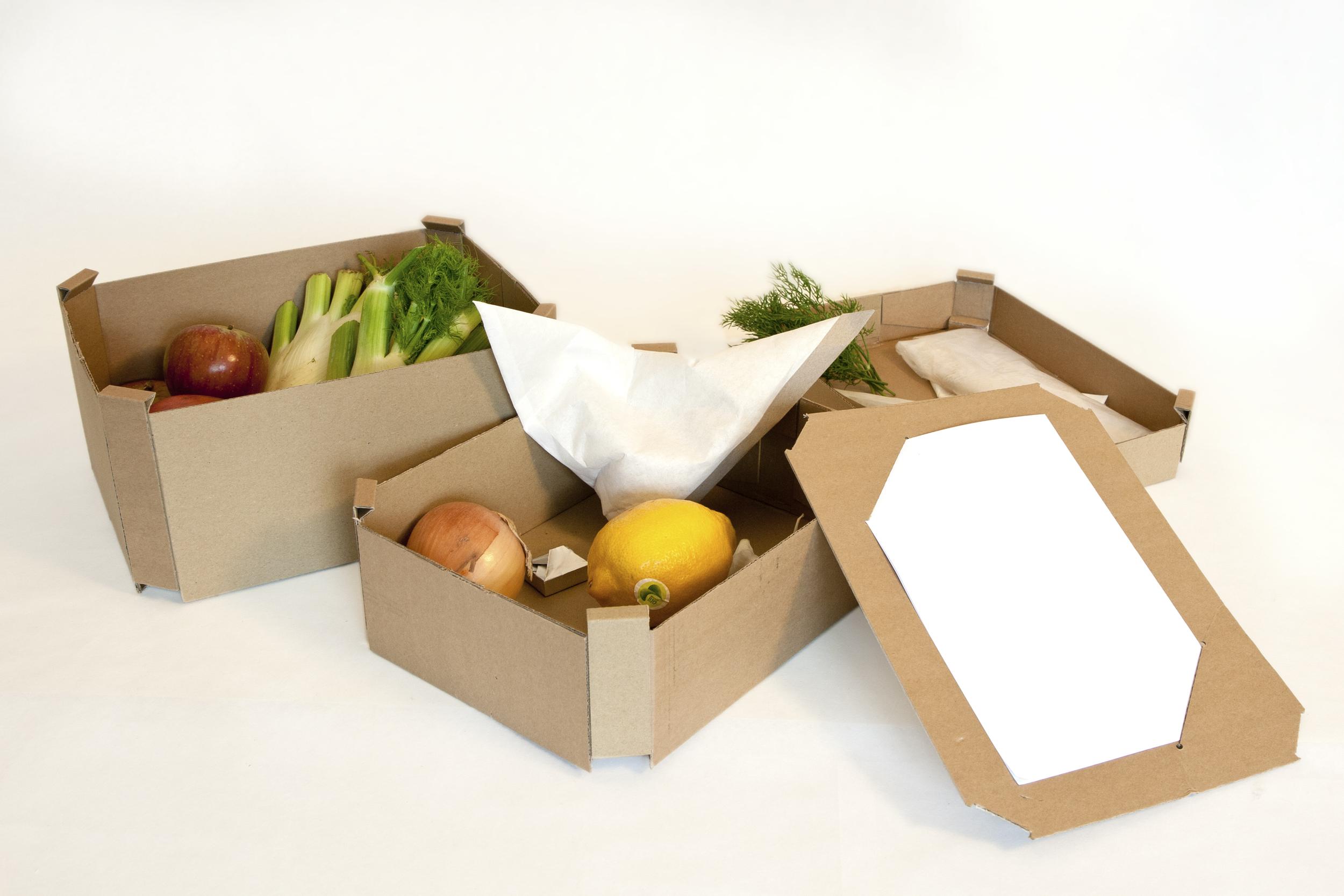 Menübox – Höhe und Anzahl der Boxen sind an das Menü anpassbar.