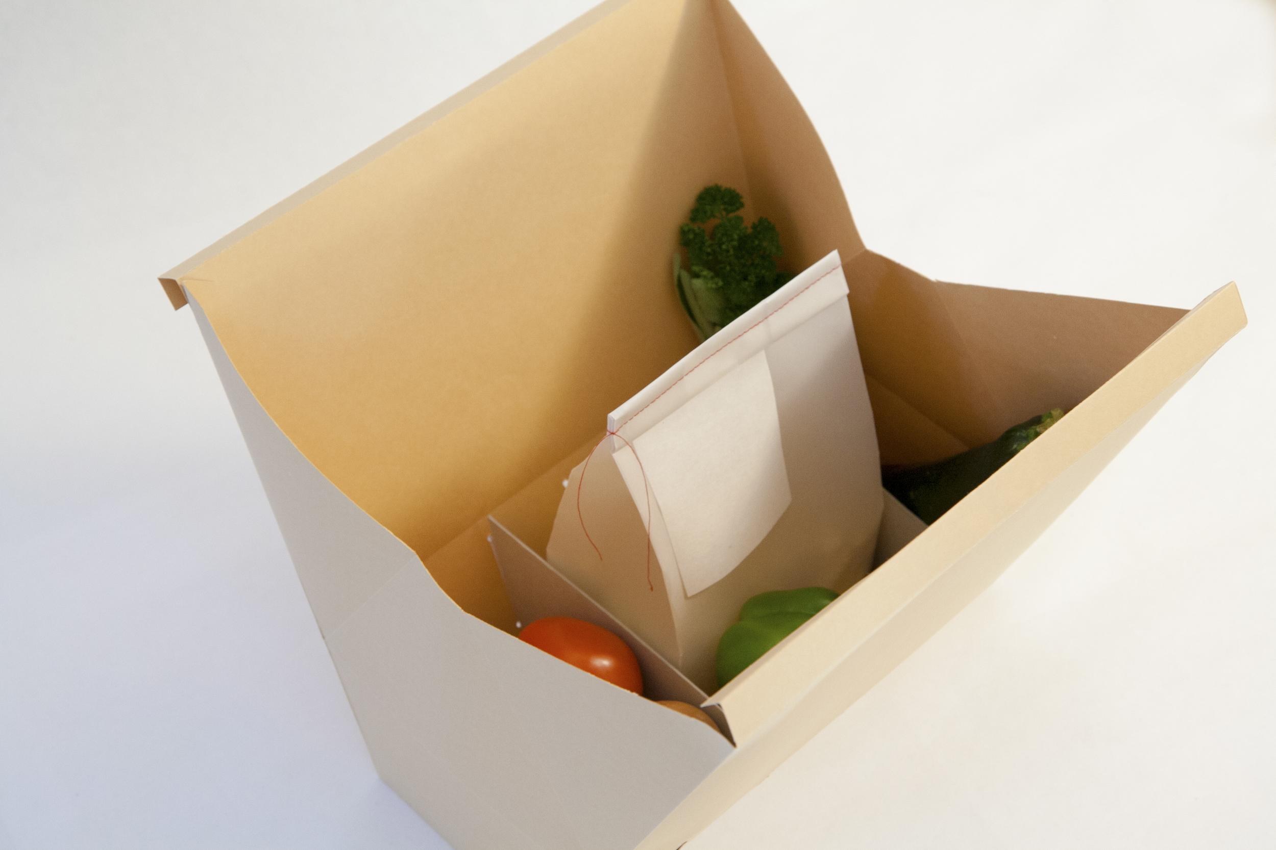Schlemmertüte – Verpackung auf, ran an die Zutaten
