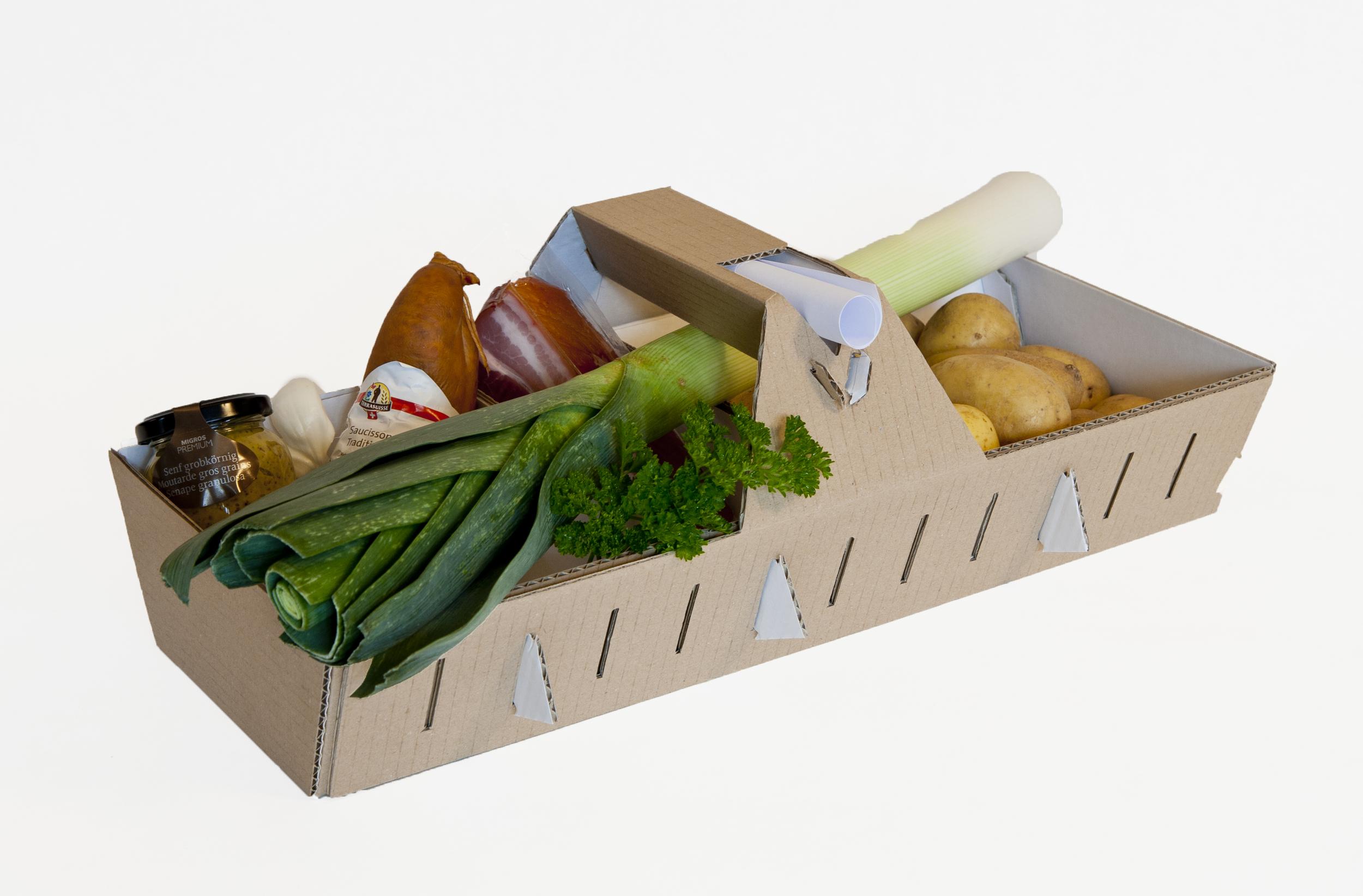 Gourmetkorb – Wie frisch vom Markt!