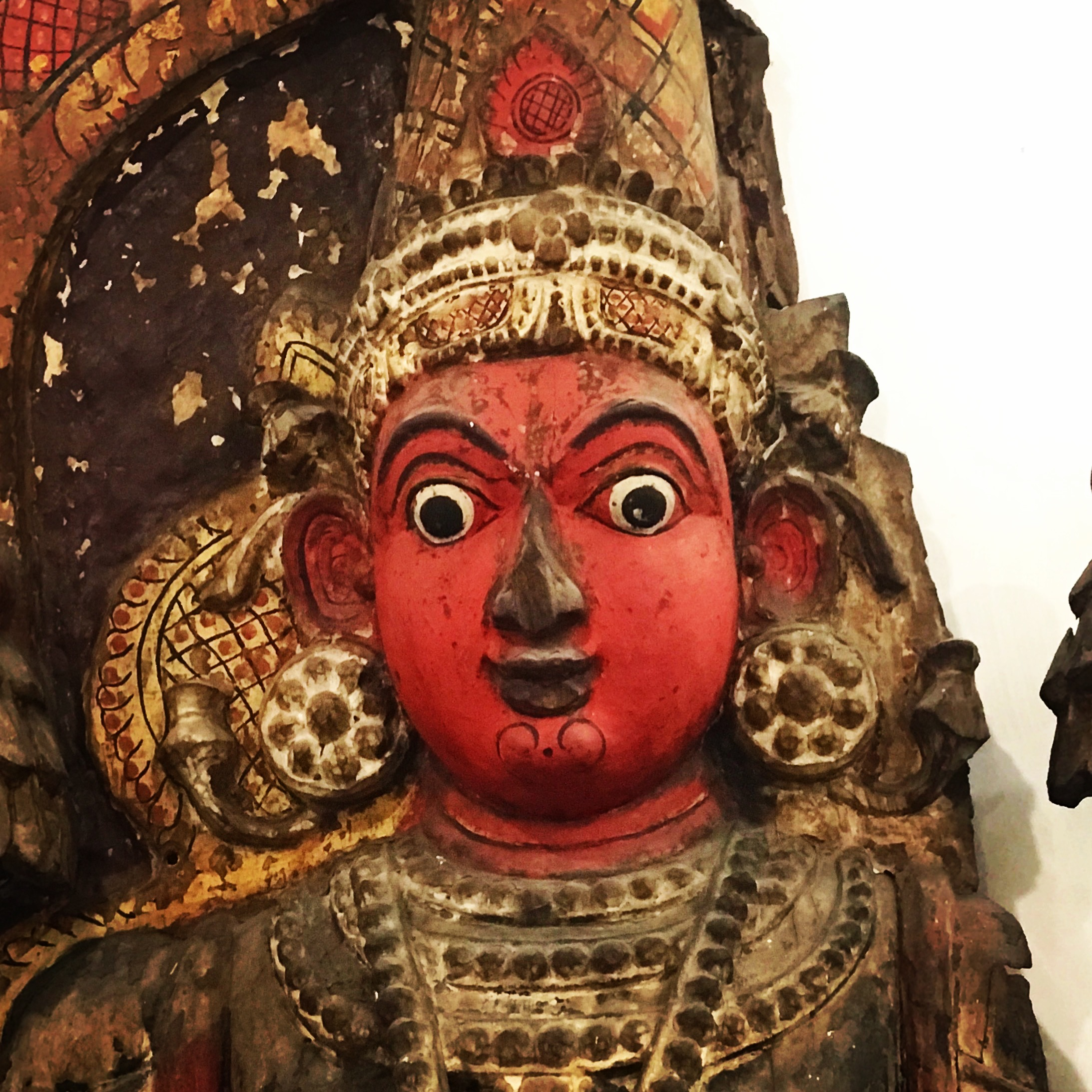The National museum gave us a glimpse into the last 5000 years of Indian history.
