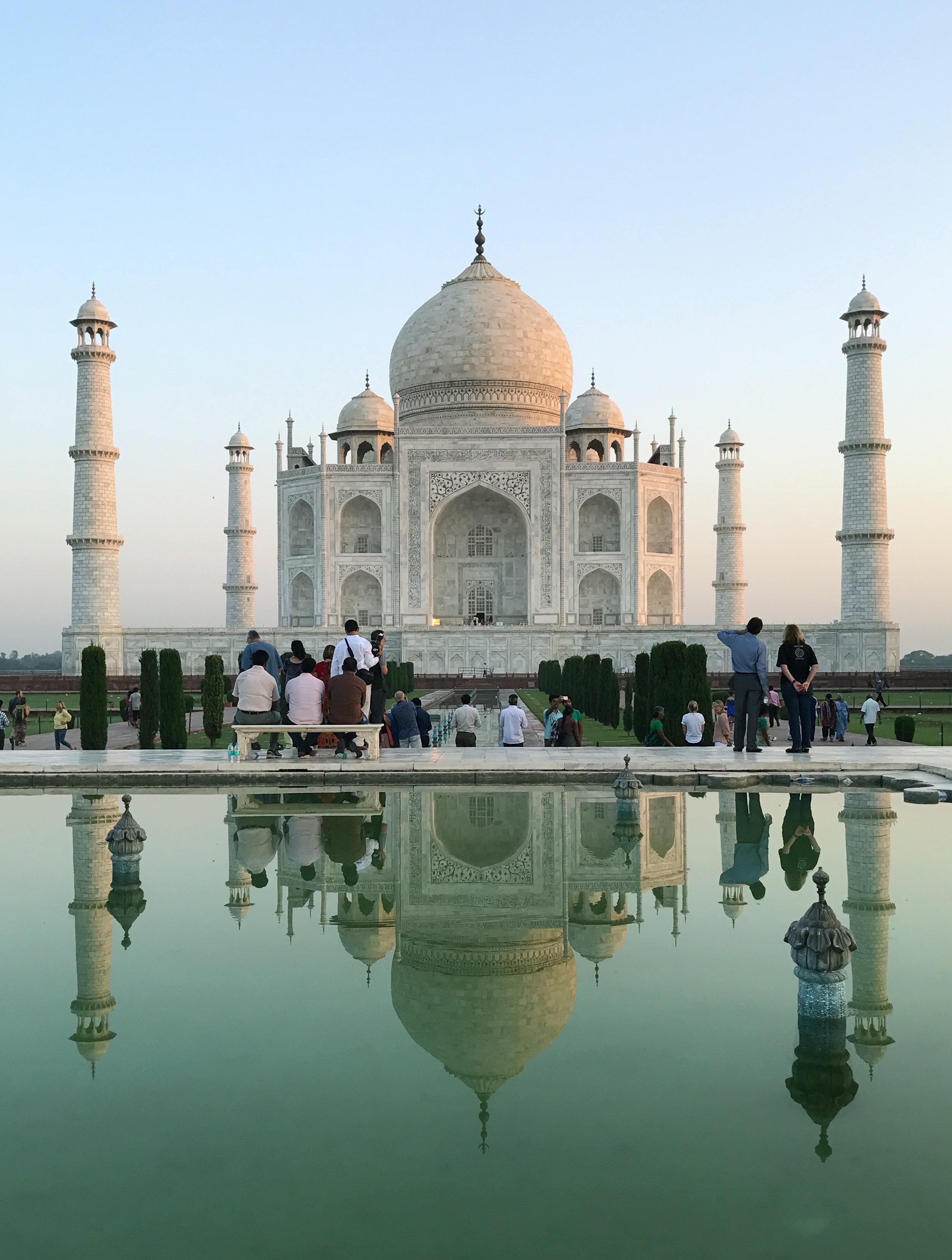 Here it is, the breathtaking Taj Mahal!