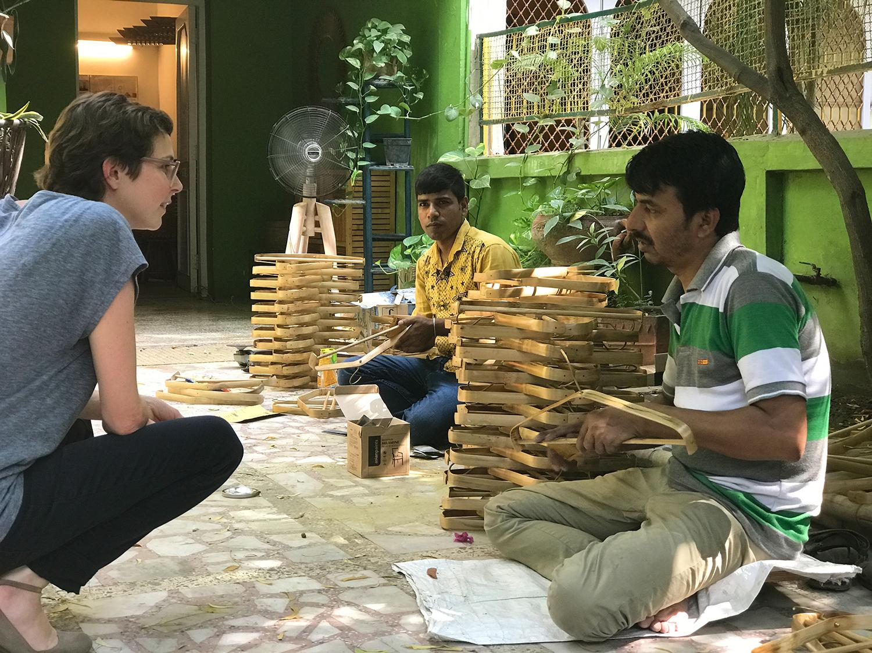The Rhizome prototypers Sajal and Ratan