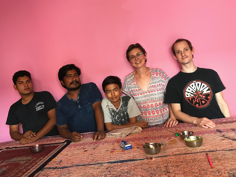 Raj, Sanjay, Sumit and KreativKonsum
