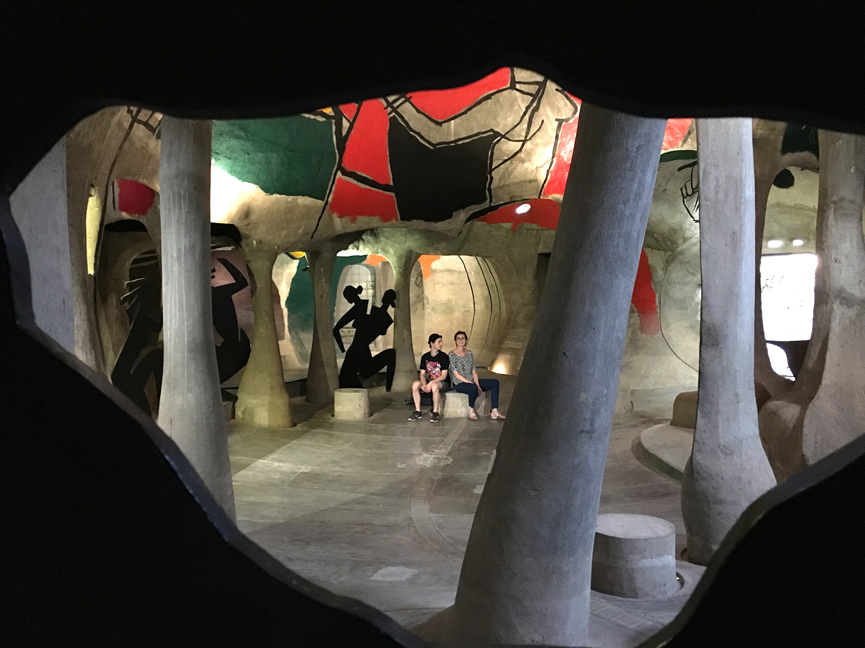 Inside the Amdavad ni Gufa