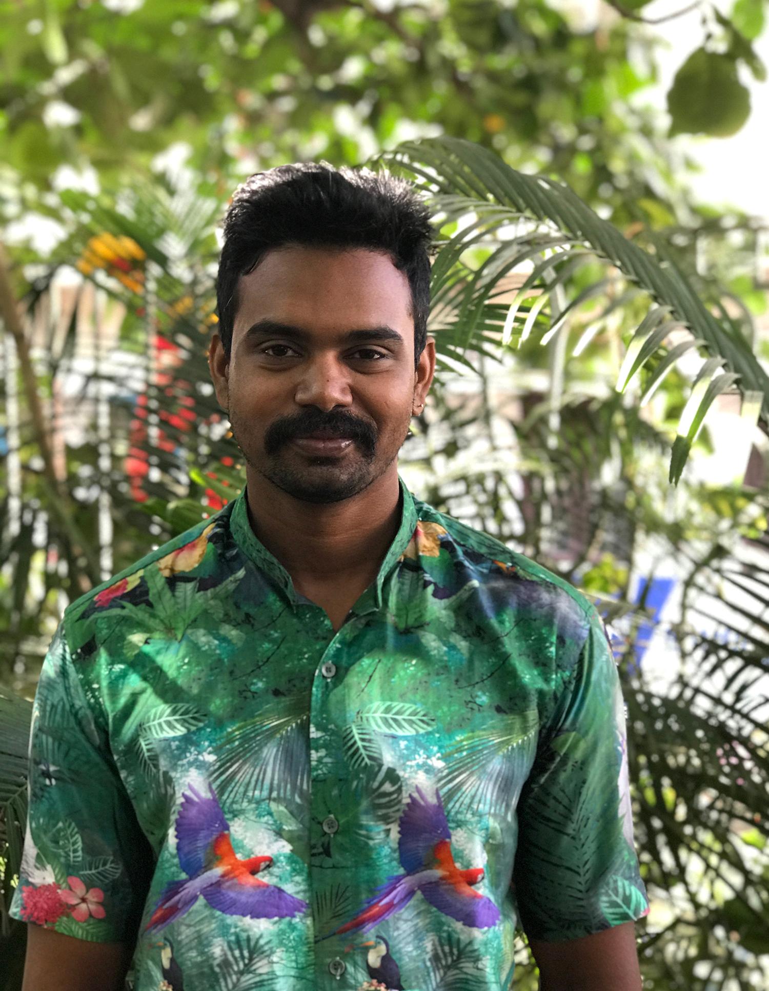 Sandeep TK from the 1Shanthiroad crew.