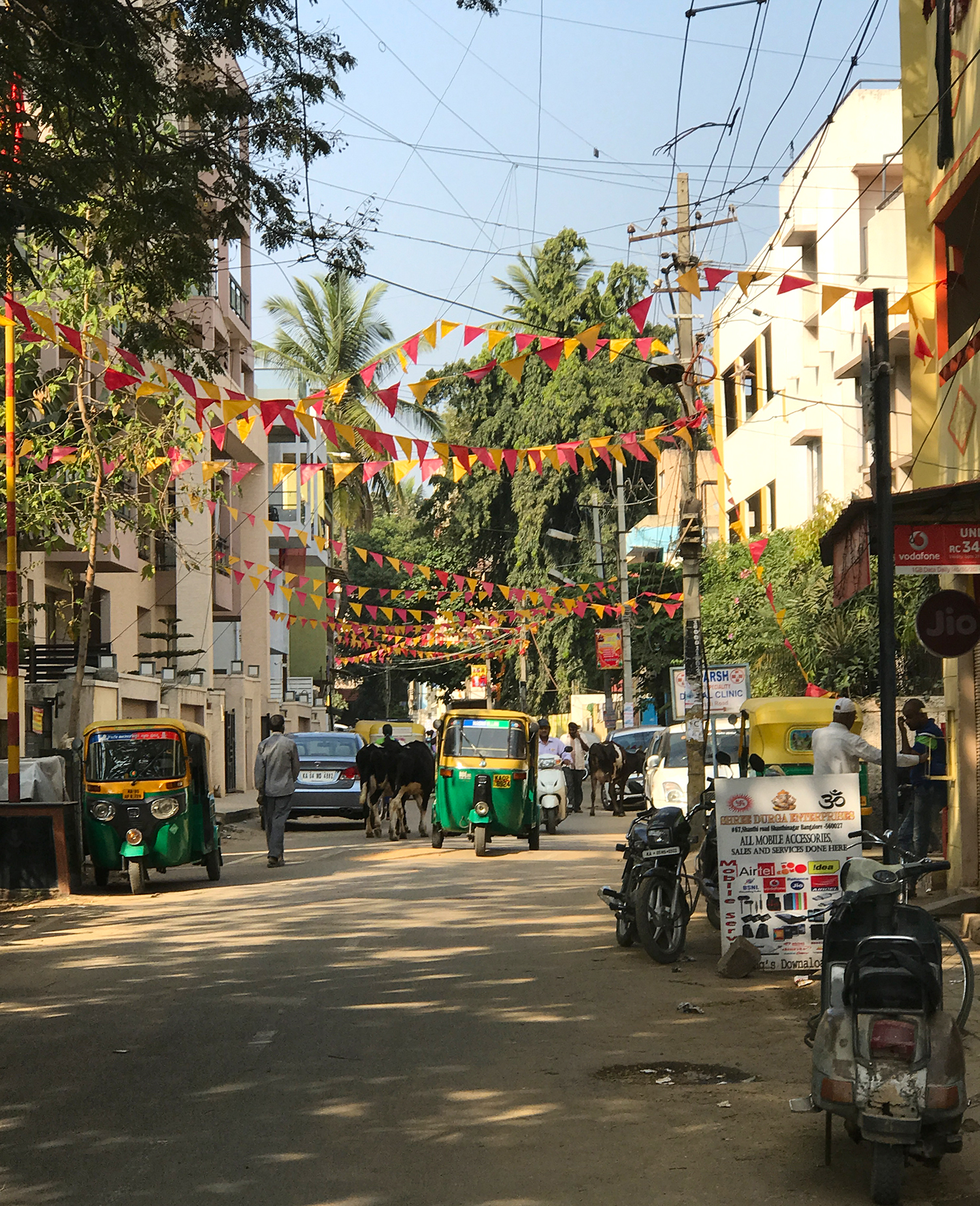 This is the Shanthi Road.