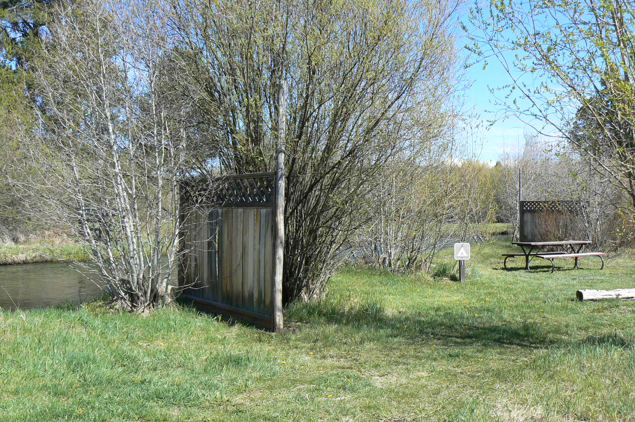 River Tent Site 1
