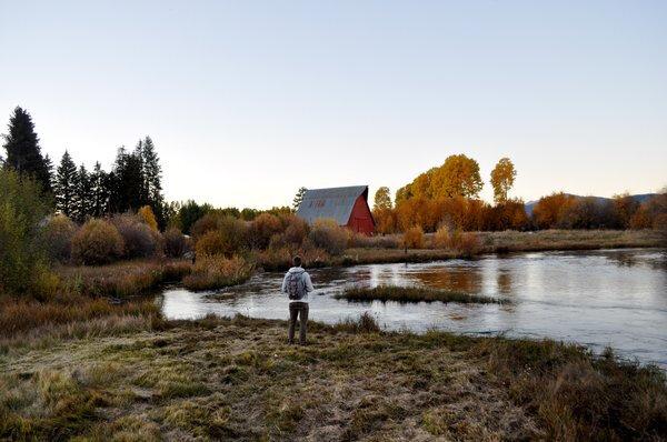 The Barn at Horseshoe Ranch, Autumn