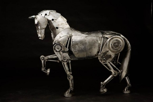 Maybe you designed a robot horse, for example.