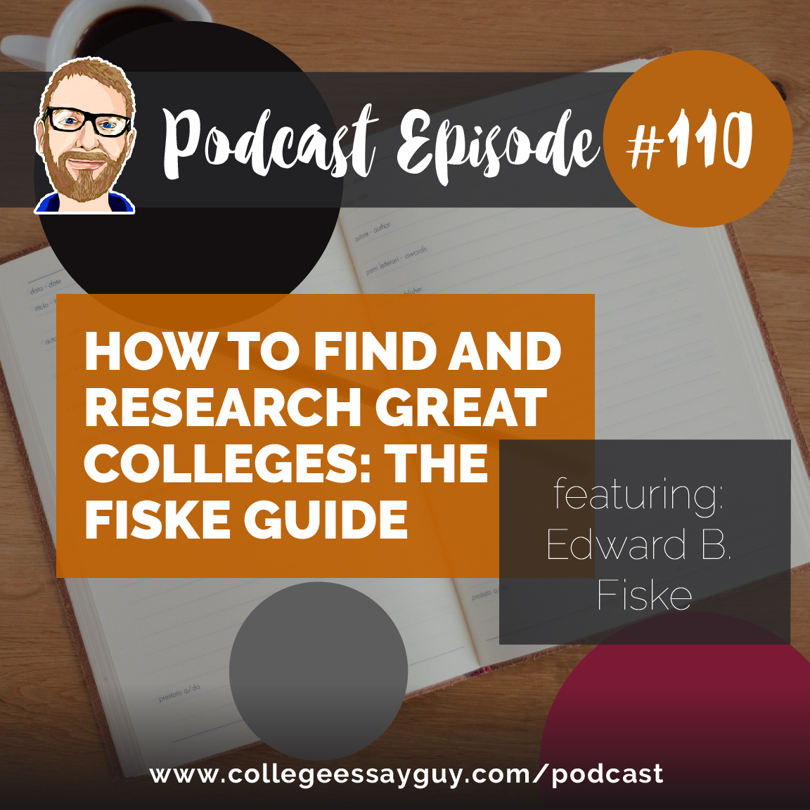 """My guest for this episode is Edward B. Fiske (known to most as """"Ted""""). Ted served as Education Editor for the New York Times from 1974 until 1991, and is well-known to college bound students and their parents as the editor of the Fiske Guide to Colleges, a staple of any high school counselor library and the nation's best-selling college guide."""