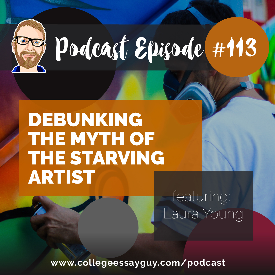 "My guest on this episode is Laura Young, a friend of mine who is the director of enrollment management at the UCLA School of Arts and Architecture. She was (and I think still is) an ""art kid"" and in our conversation we talk about why that's cool, how that has served her in her current job, and how someone can still make a living even if, dear listener, you are an art kid (or know one who is applying to college)."