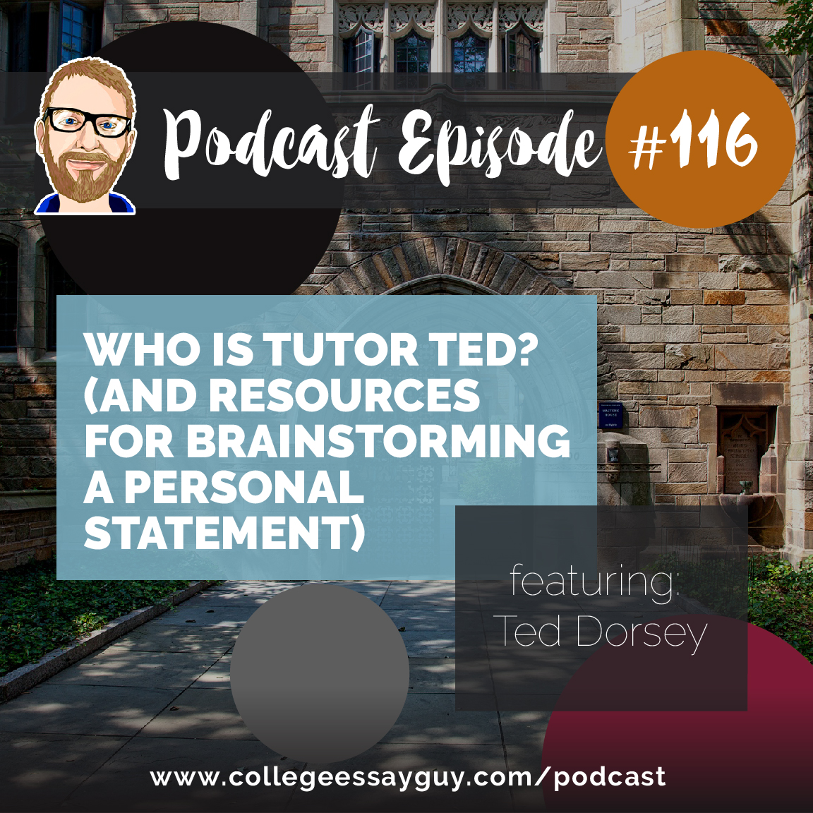 This is the first of two podcasts with Ted Dorsey, also known as Tutor Ted, who scored perfectly on the ACT, SAT, PSAT and runs a cool test prep company called (what else?) Tutor Ted.