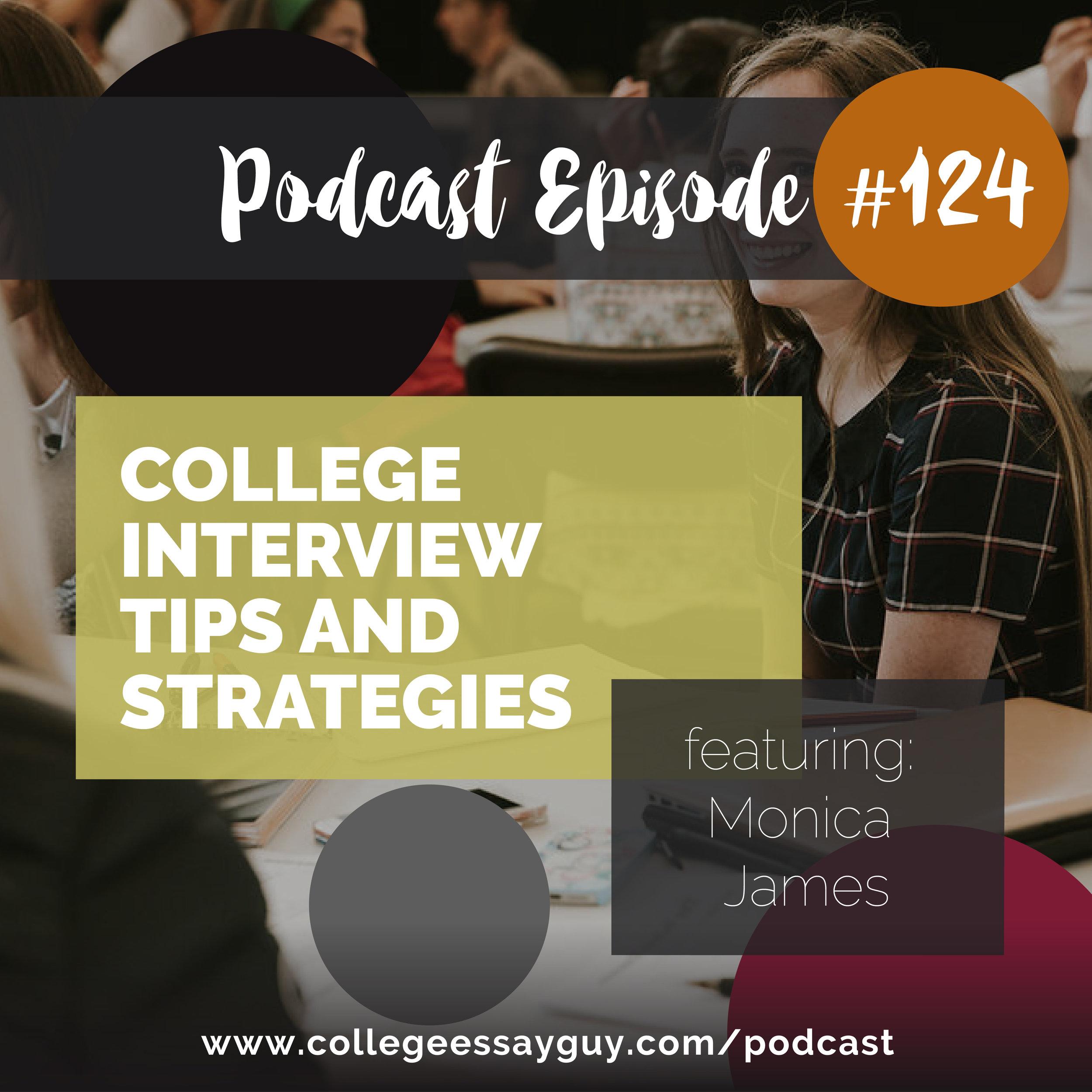 Monica James absolutely crushes it in this interview, offering more practical advice than you'll find in most weekend workshops on this topic. And it's no wonder: for years she's been teaching people (and in particular high school students) how to give great interviews.