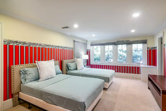 Shared room: $75/nt