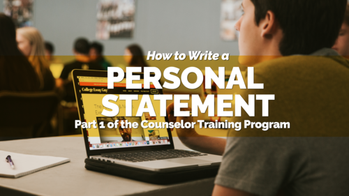 How to Write a Personal Statement 2018 Video course