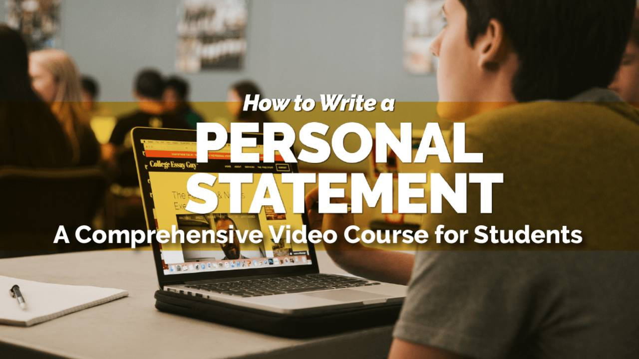 How to Write the Personal Statement (students) Course banner .jpg