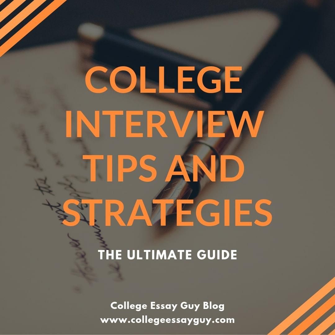 university interview