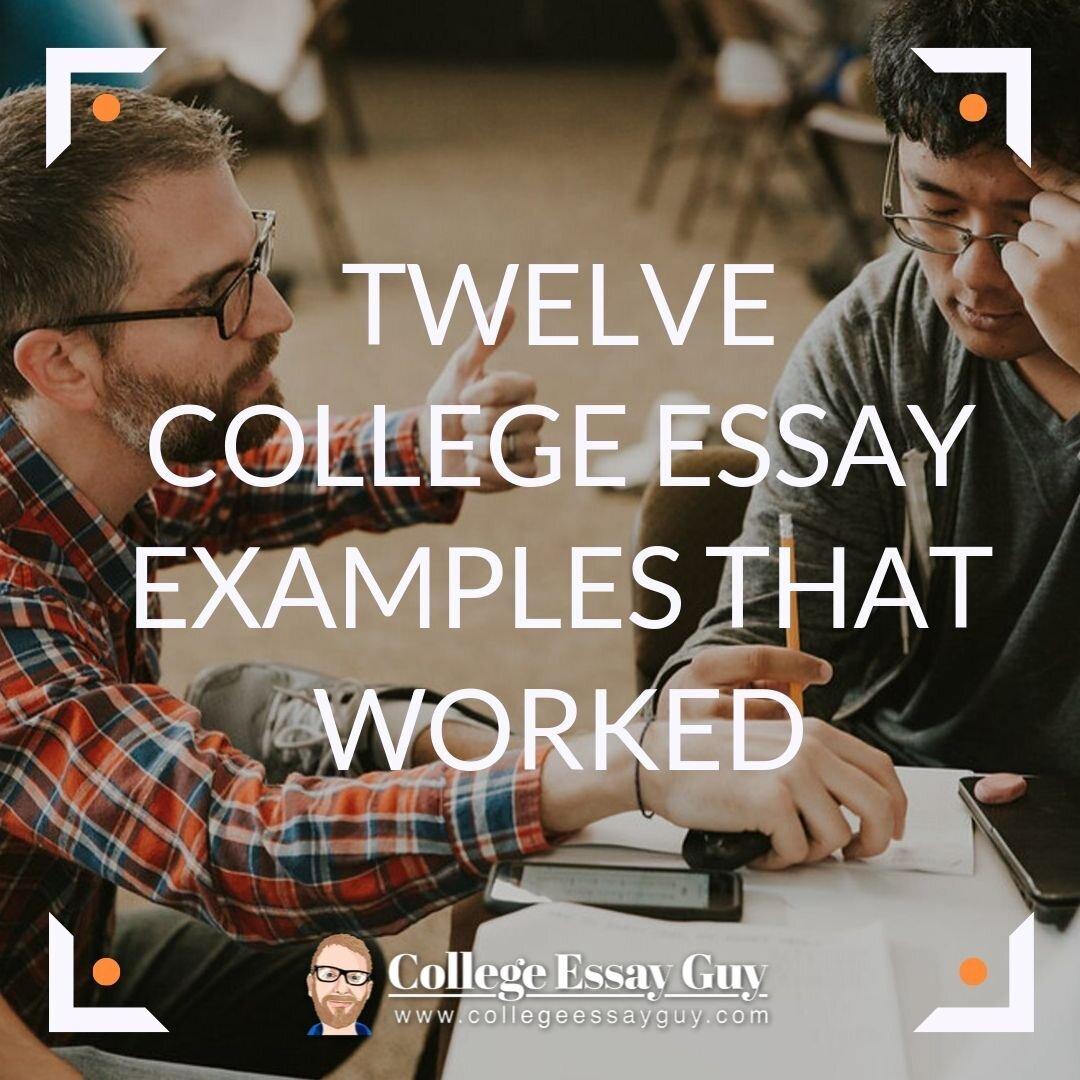 Define admission essay