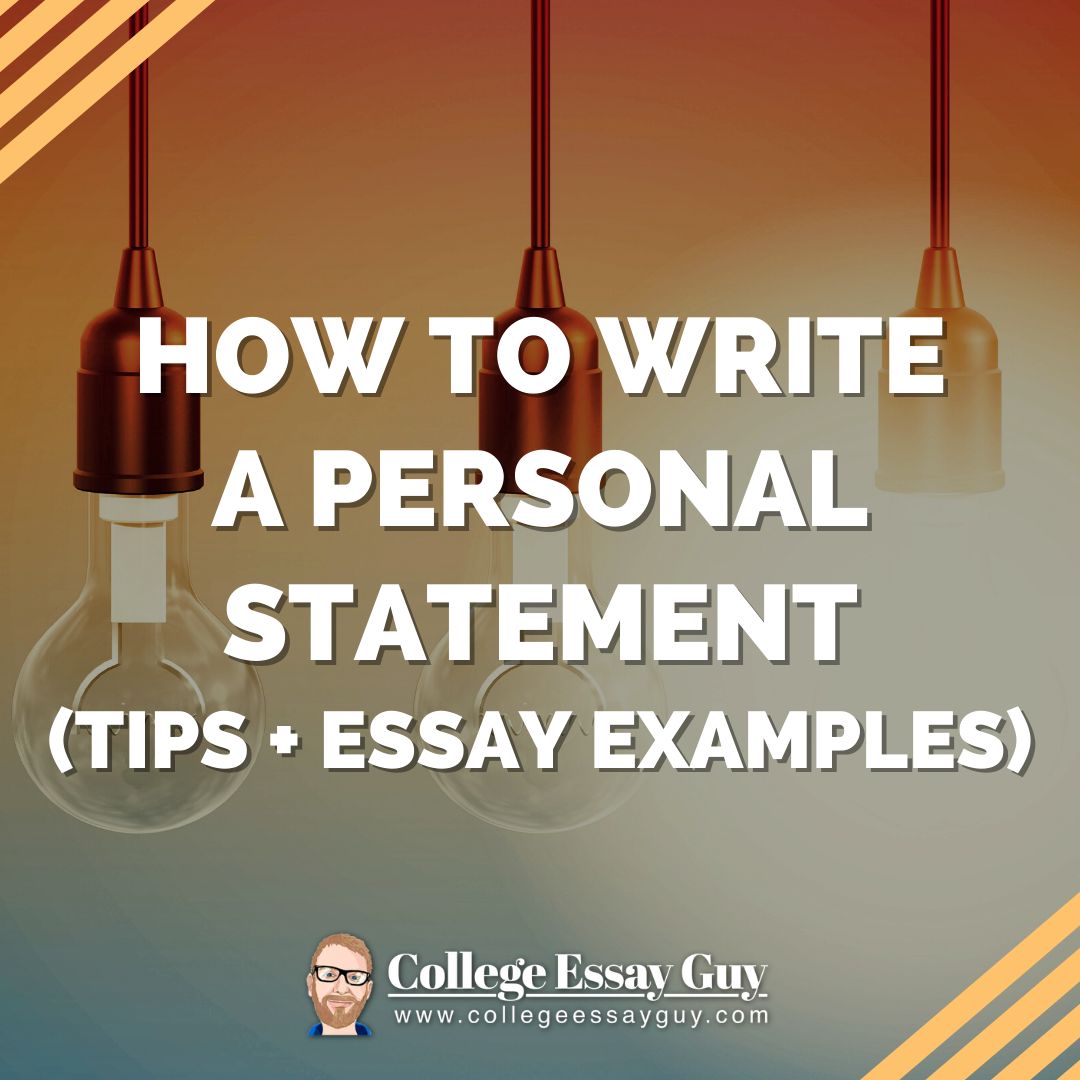 examples of a personal statement