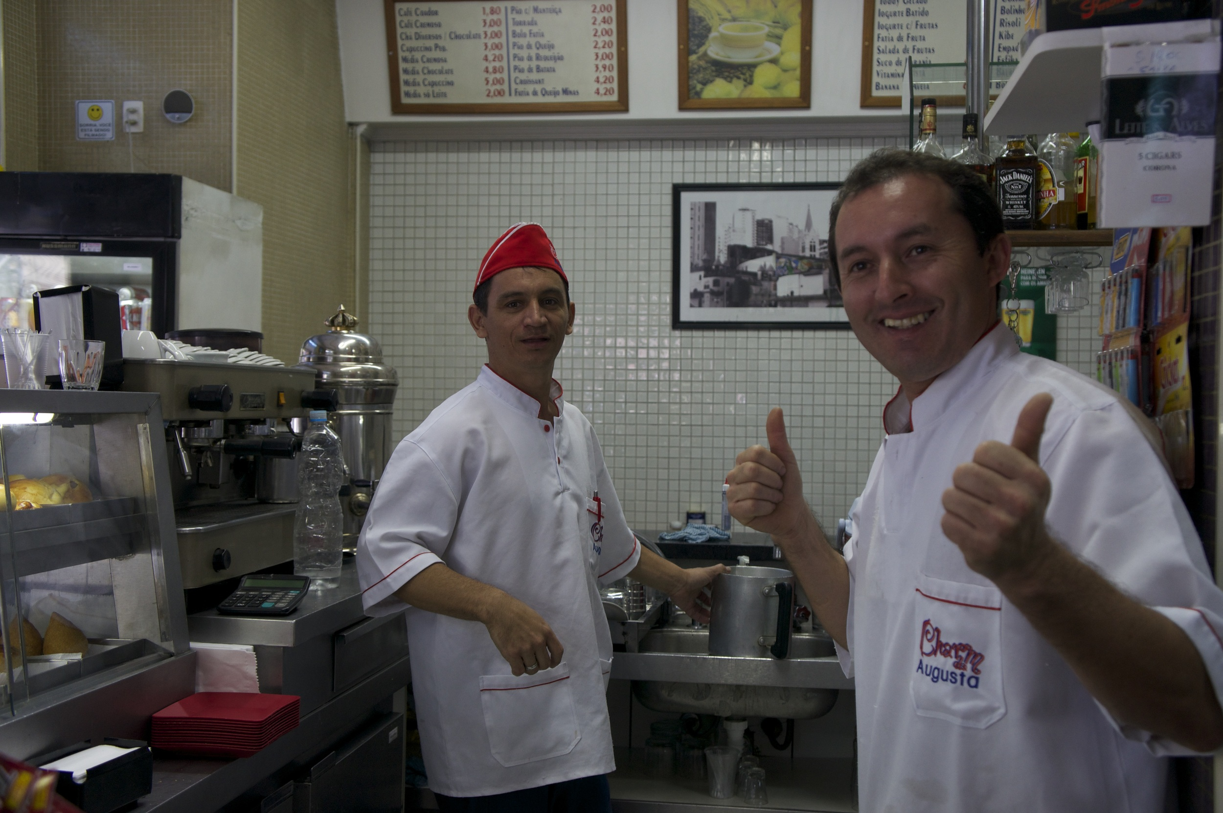 Charm de Augusta – Ronaldo och Raimundo