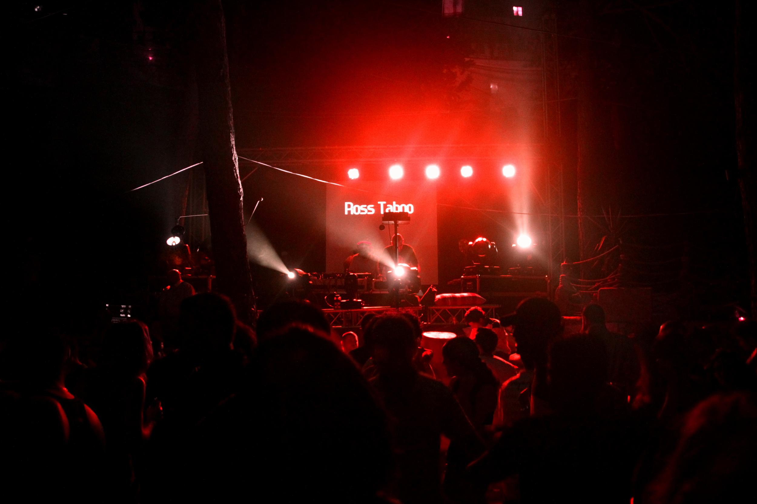 Ross Taboo playing at Snowbar Ramalah, Progressive Psytrance