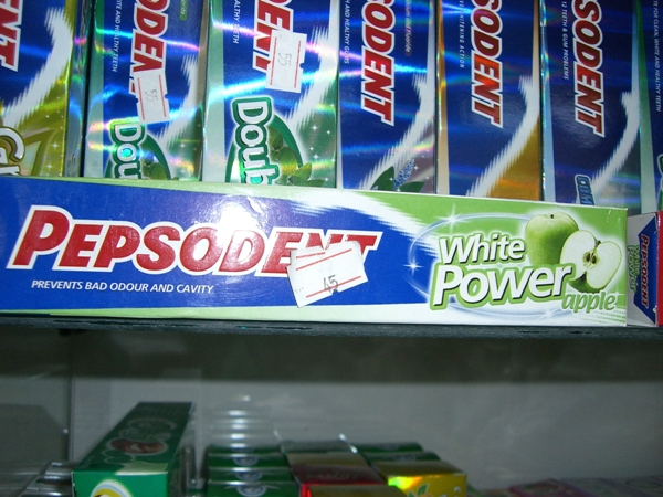 """""""Excuse me, your toothpaste is racist."""""""