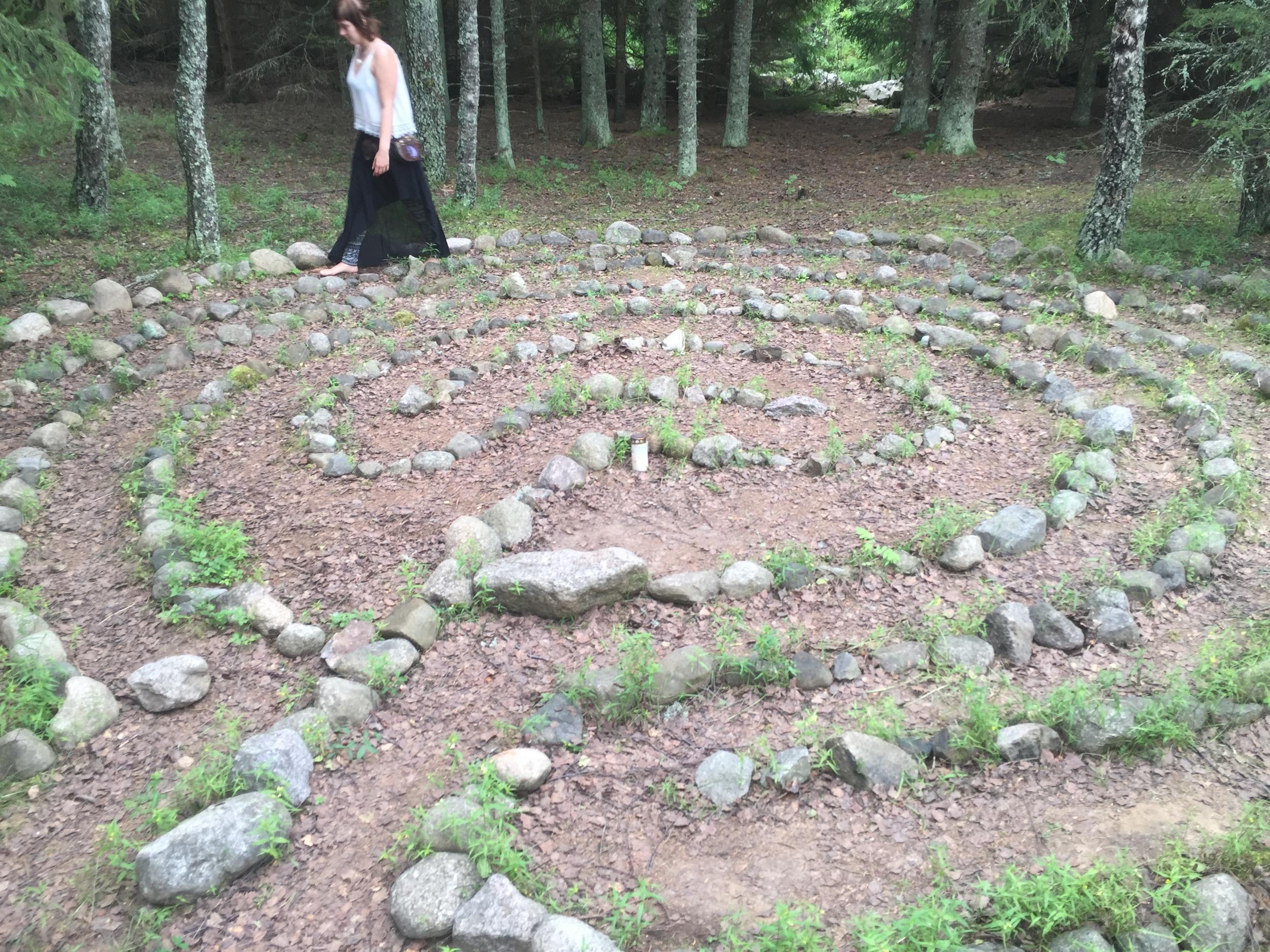 The Trojan's Labyrinth.