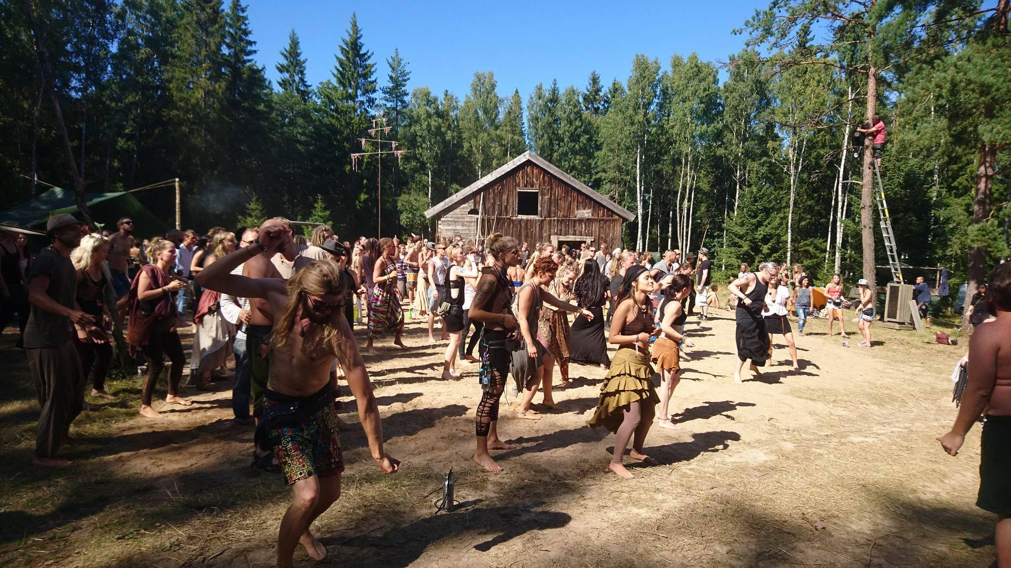 The Rainbow Warrior Tribe.