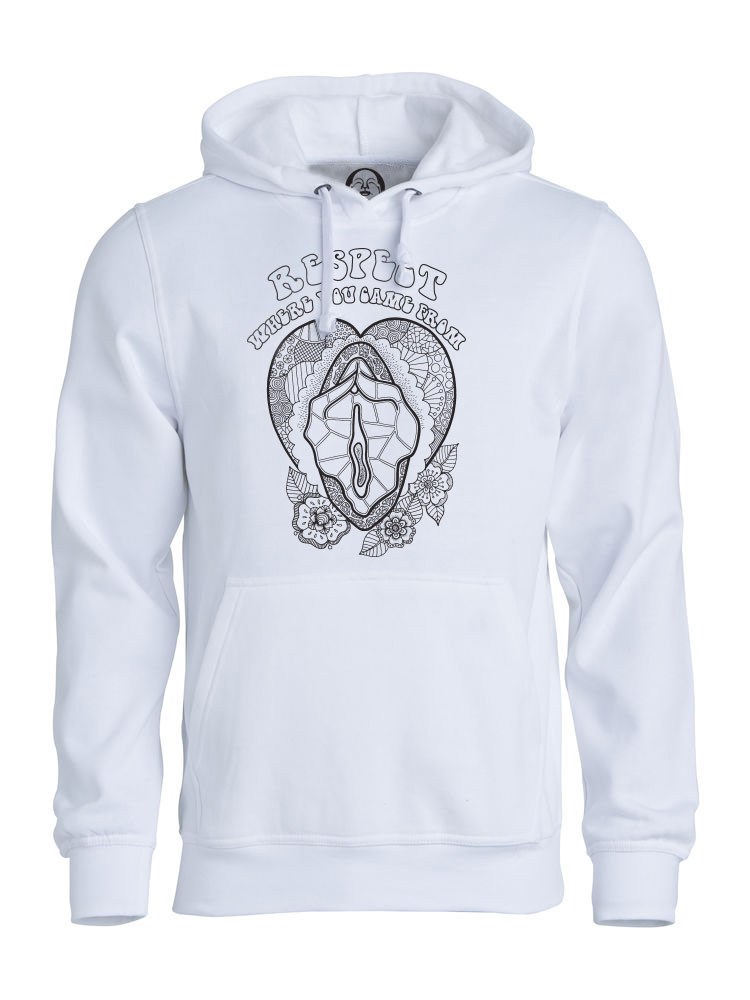 Respect Where You Came From hoodie  €34.99 Available in white