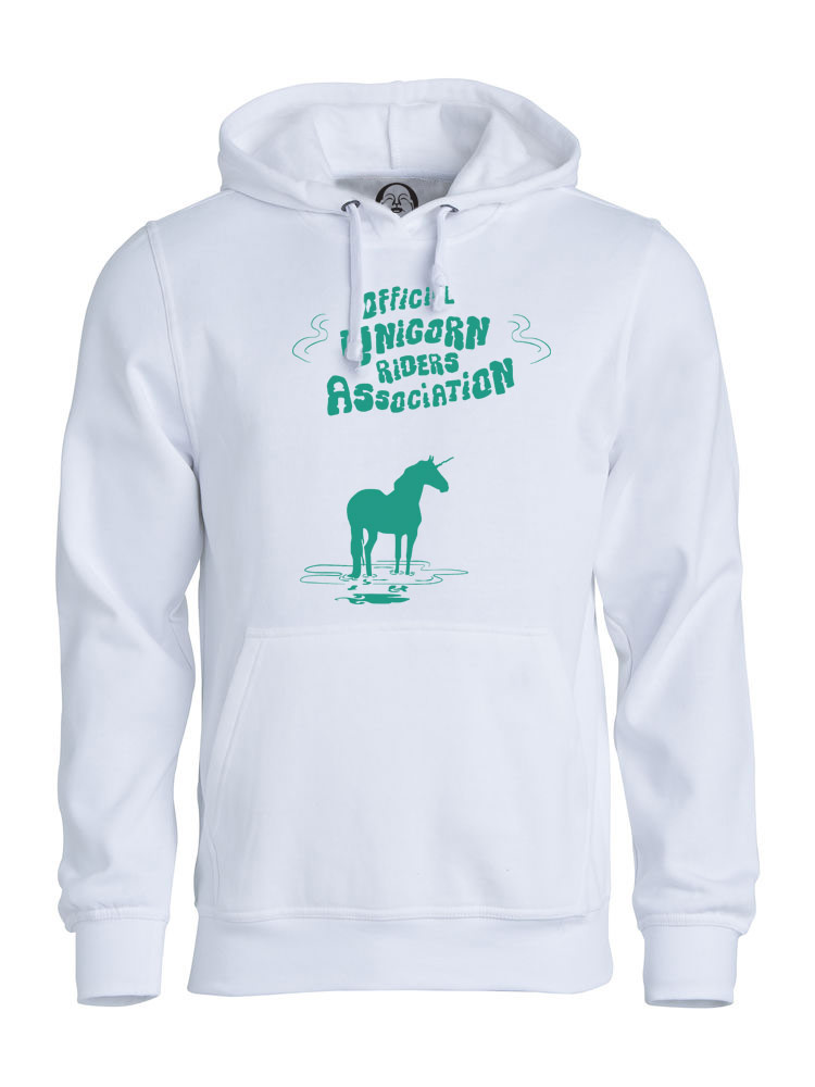 Unicorn Riders hoodie  €34.99 Available in white