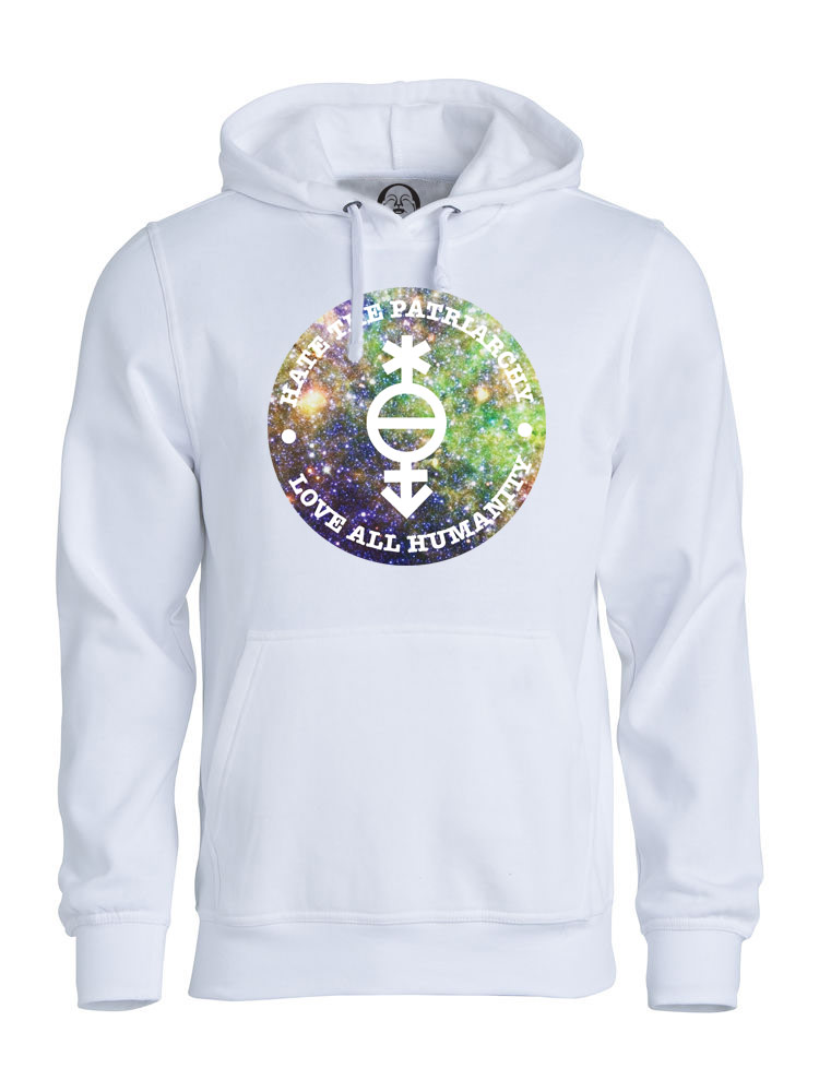Love All Humanity hoodie  €34.99 Available in white