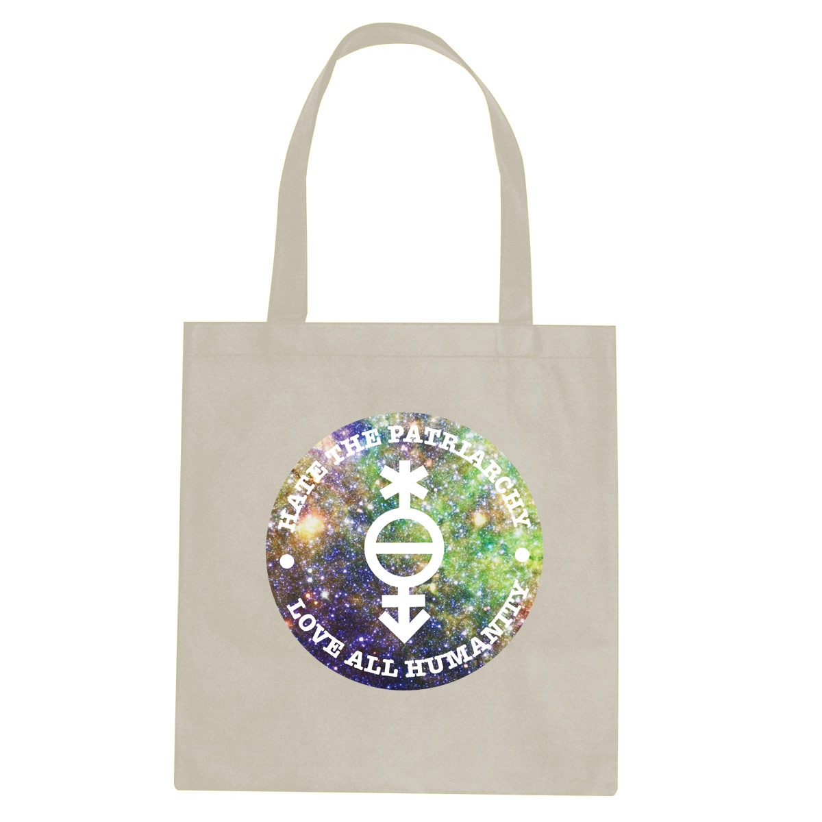 Love All Humanity tote bag  €14.99 Available in natural