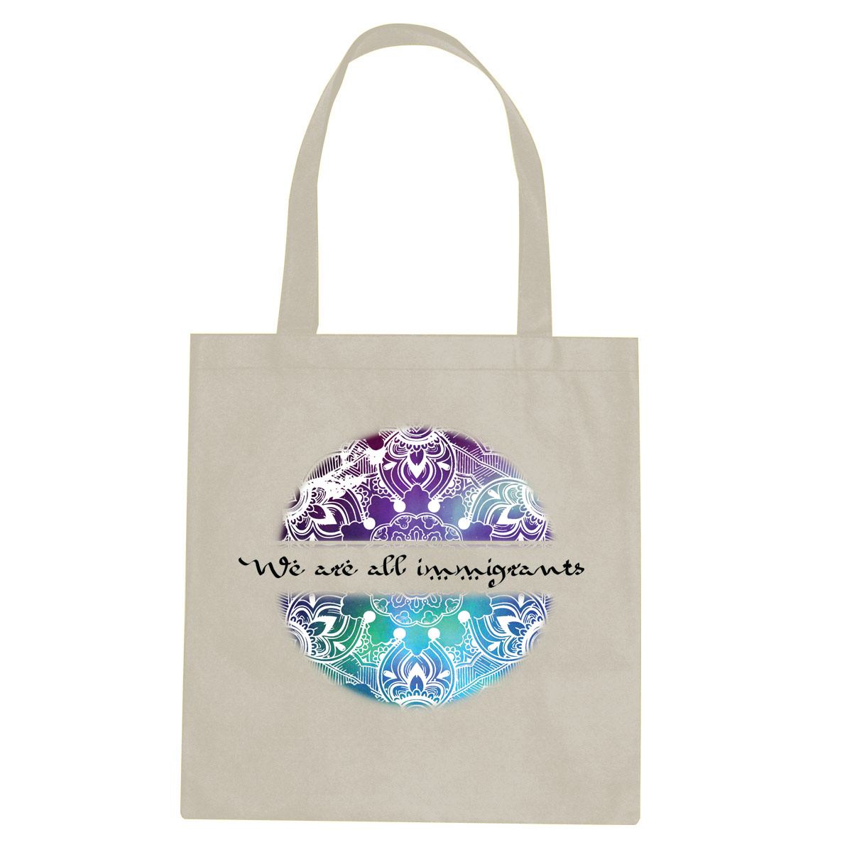 We Are All Immigrants tote bag  €14.99 Available in natural
