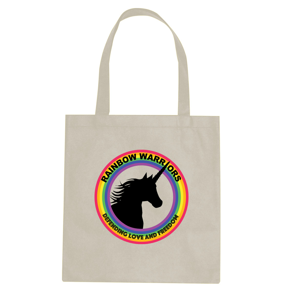 Rainbow Warriors tote bag  €14.99 Available in natural