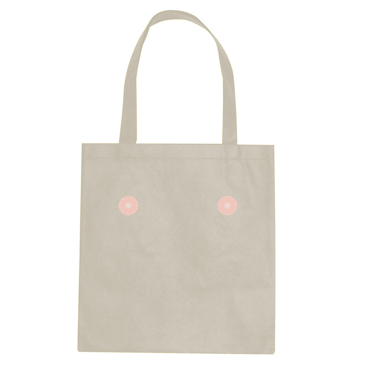 Pink nipple tote bag  €14.99 Available in natural, black