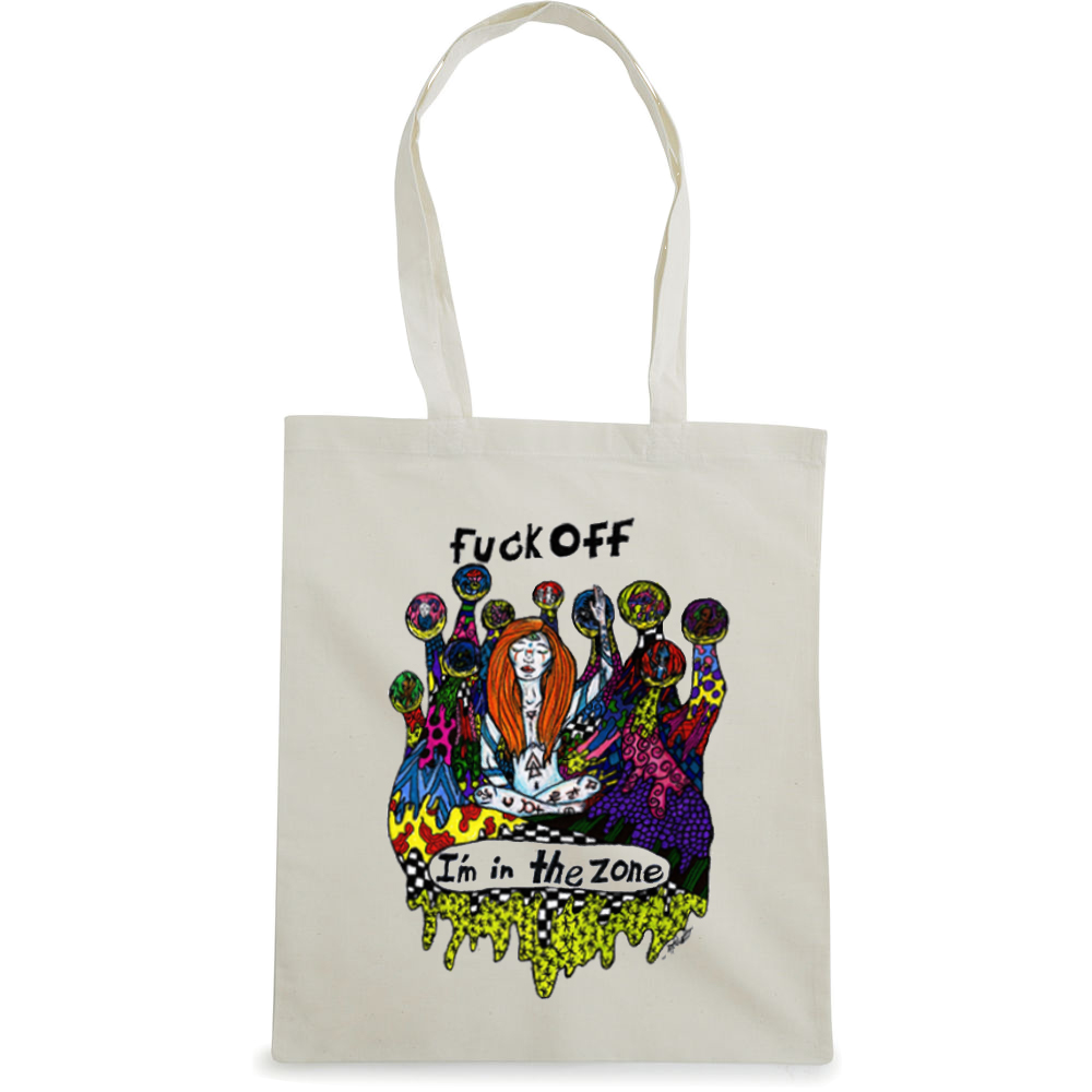 Fuck Off tote bag  €14.99 Available in natural
