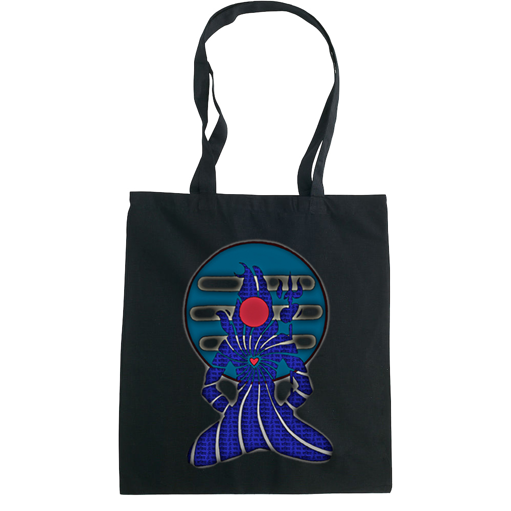 Meditating Shiva tote bag  €14.99 Available in natural, black