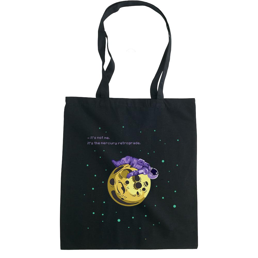 Mercury Retrograde  tote bag  €14.99 Available in natural, black