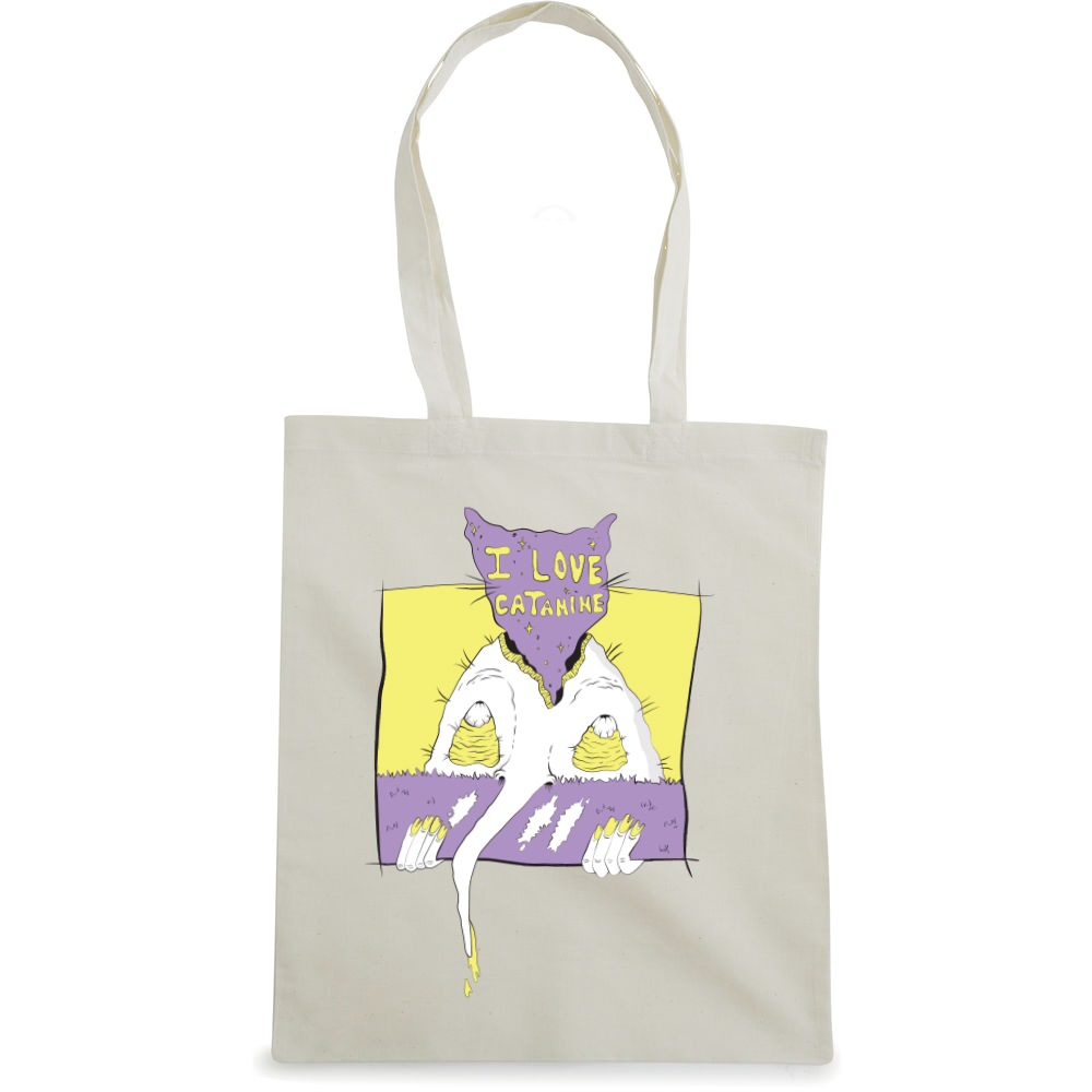 I Love Catamine tote bag  €14.99 Available in natural