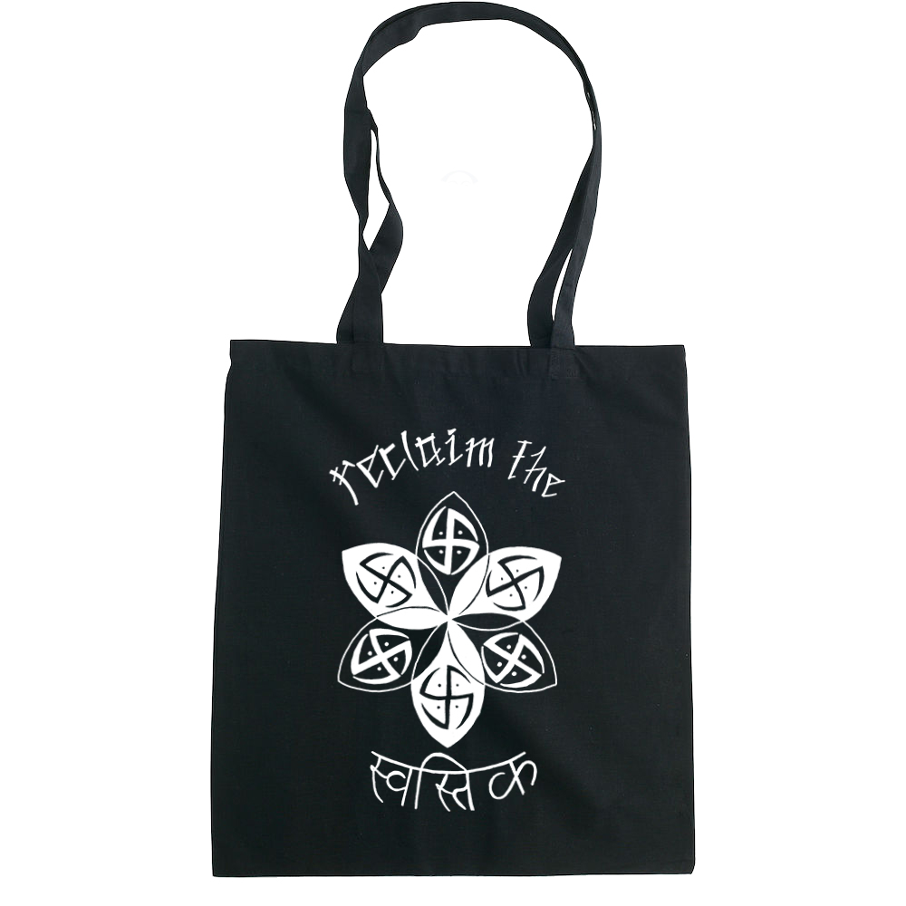 Reclaim the Swastika tote bag  €14.99 Available in natural, black
