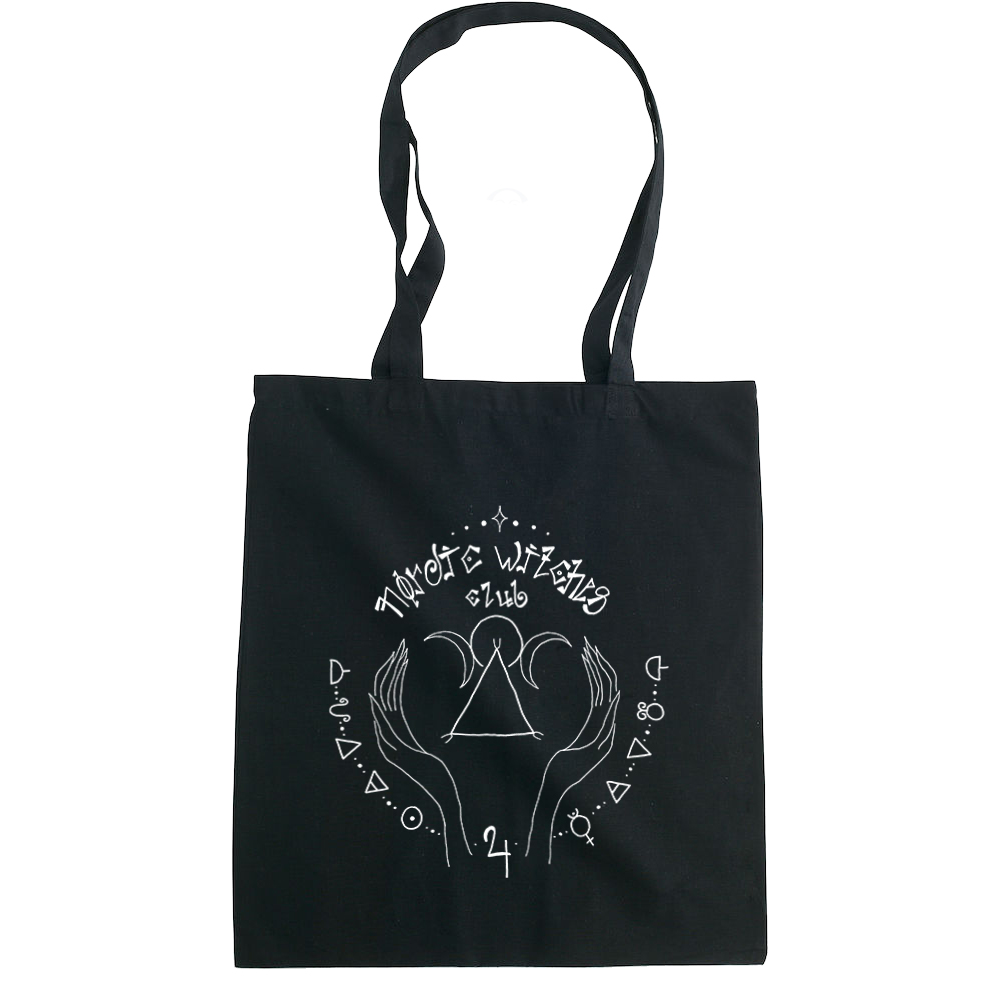 Nordic Witches Club tote bag  €14.99 Available in natural, black