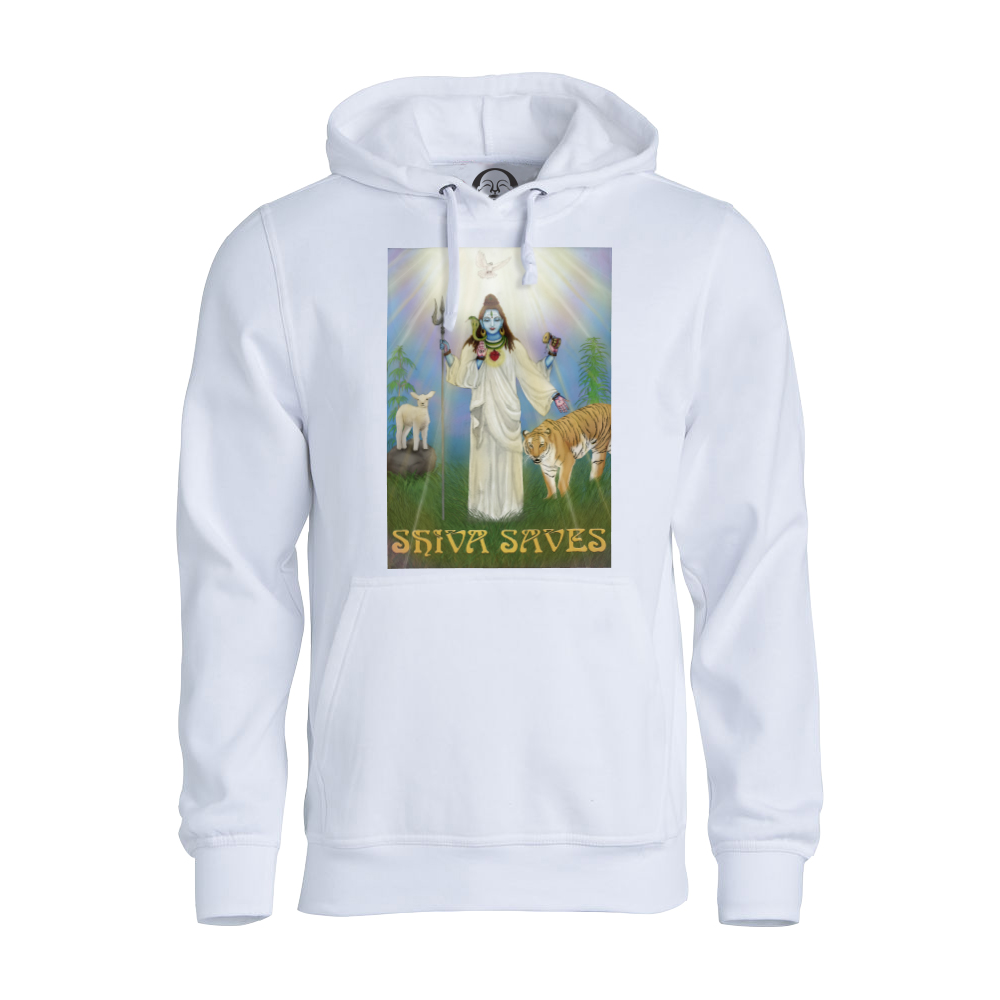 Shiva Saves Club hoodie  €34.99 Available in white, black, dark grey