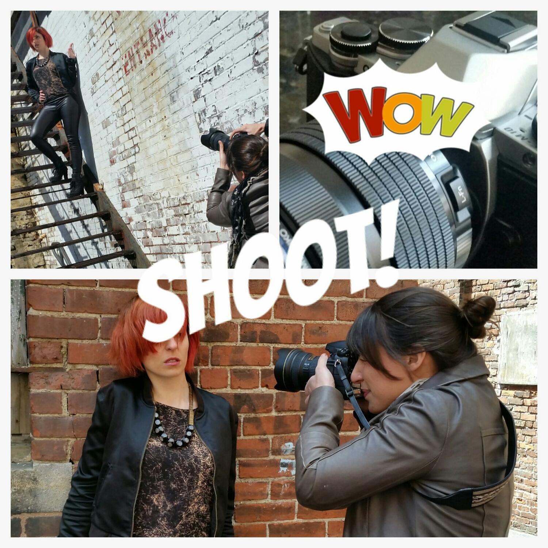 shooting!