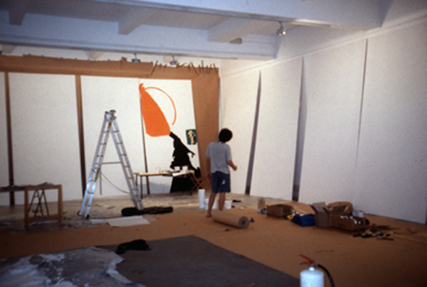24 Paintings in 24 Hours at the Chisenhale Gallery 1999