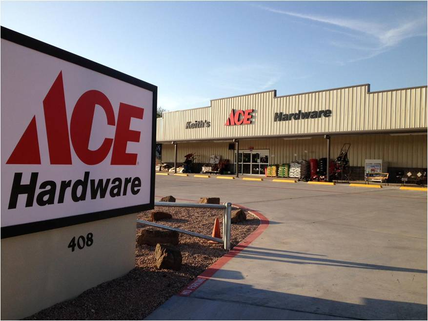 Keith's Ace HardwareMcGregor, Texas.jpg