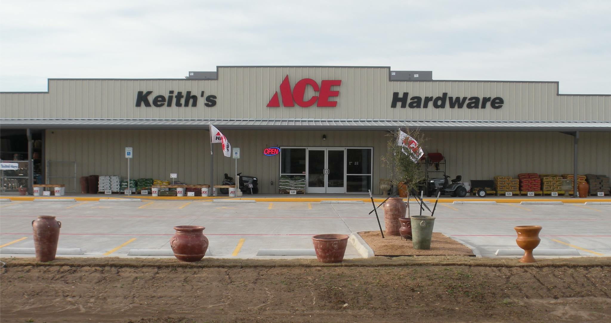 Keith's Ace Hardware  in china spring January 2015